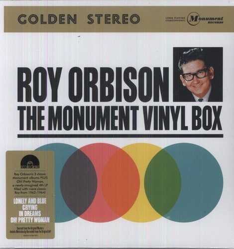 Roy Orbison Monumenl Box Set 4 Lp Record Store Day Exclusive