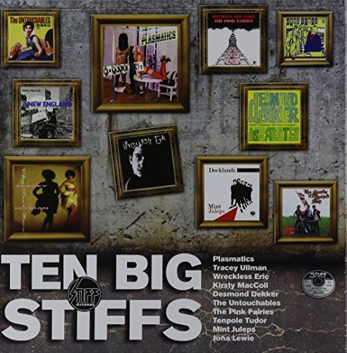 "Various Artisits Ten Big Stiffs 10 X 7"" Box Set Record Store Day Exclusive"