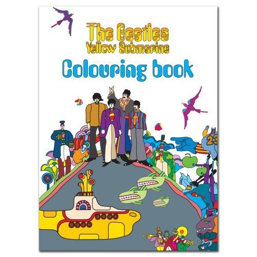 Beatles Yellow Submarine Coloring Book Pgd404 0065 Cap