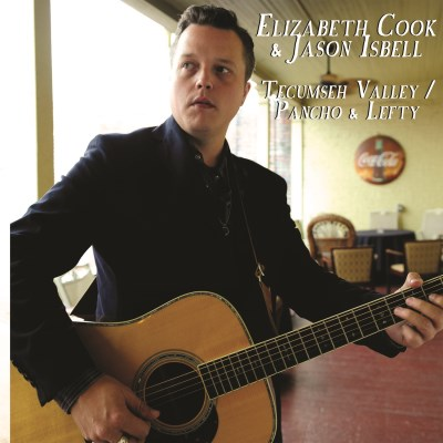 Elizabeth & Jason Isbell Cook Tecumseh Valley Pancho & Lefty 7 Inch Single