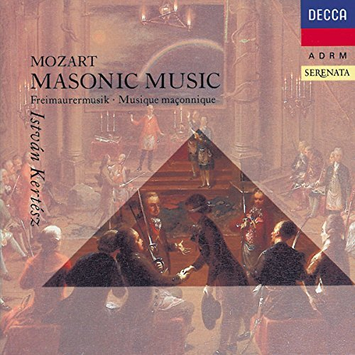 W.A. Mozart Masonic Music Krenn Krause Kertesz Edinburgh