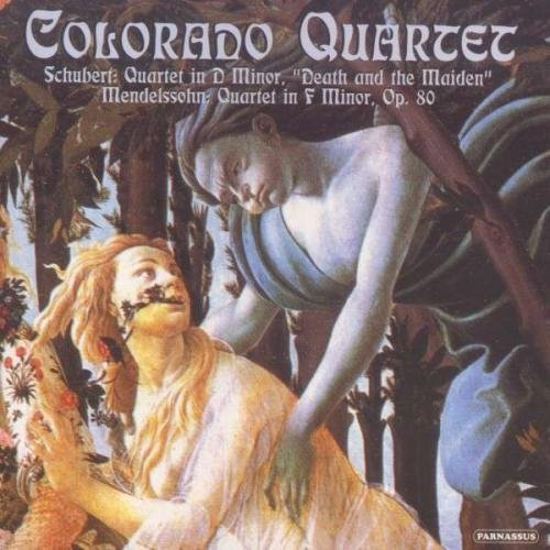 Colorado Quartet Schubert & Mendelssohn String
