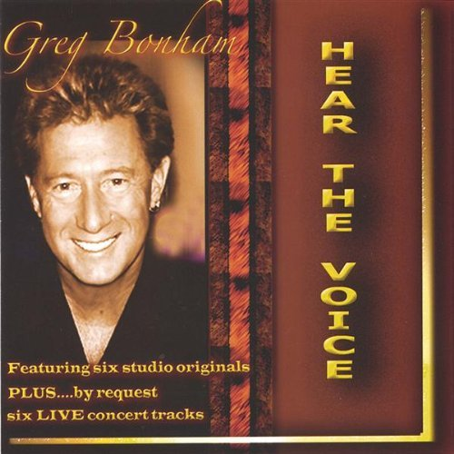 Greg Bonham Hear The Voice