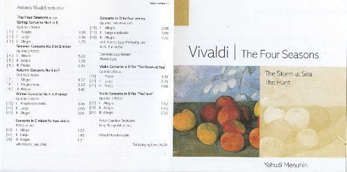 Vivaldi A. Four Seasons The Storm At Sea The Hunt