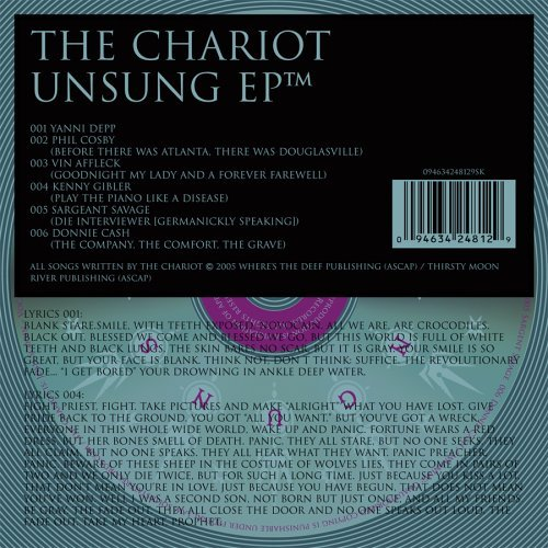 Chariot Unsung Ep Enhanced CD