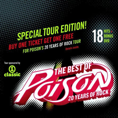 Poison Best Of Poison 20 Years Of Ro Incl. DVD