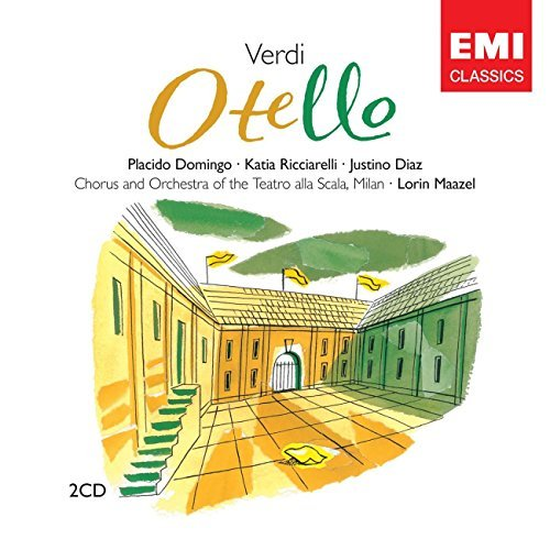 G. Verdi Otello 2 CD Set Maazel La Scala Orch