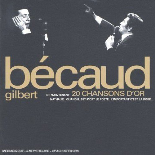 Gilbert Becaud 20 Chansons D'or Import Can