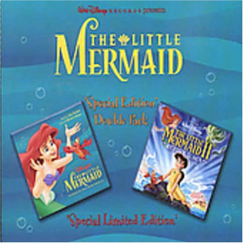 Little Mermaid I & Ii Soundtrack Import Aus 2 CD Set