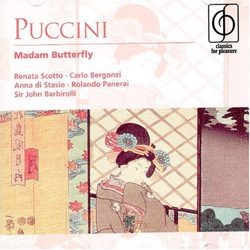 Sir John Barbirolli Puccini Madama Butterfly 2 CD Set Barbirolli Rome Opera House Ch