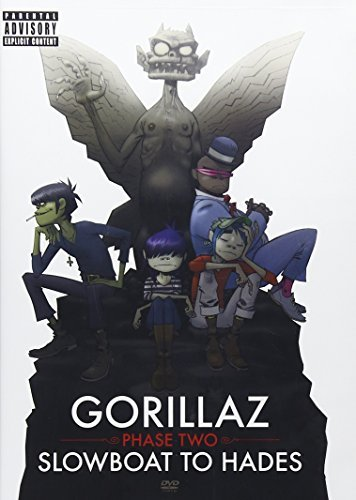 Gorillaz Phase 2 Slow Boat To Hades Explicit Version Incl. Bonus CD Rom