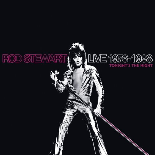Rod Stewart Live 1975 1998 Tonight's The 4 CD