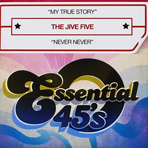 Jive Five My True Story CD R Digital 45