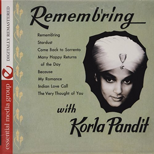 Korla Pandit Rememb'ring CD R Remastered