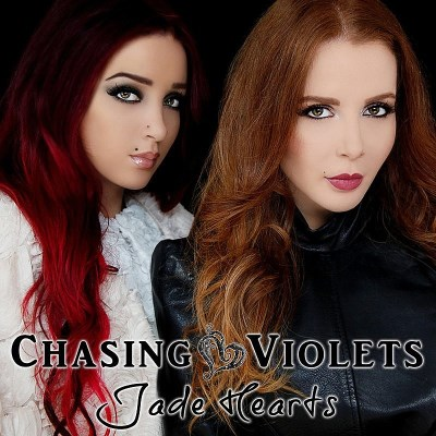Chasing Violets Jade Hearts Import Gbr
