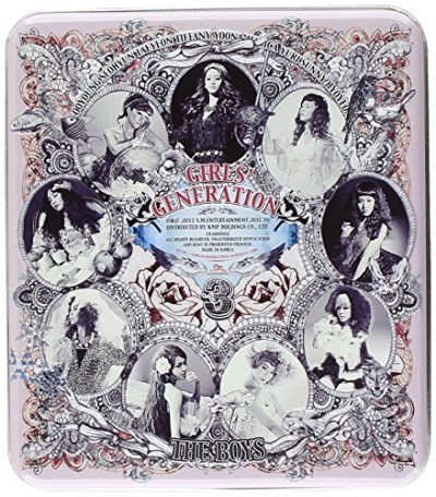 Girls' Generation Boys Import Kor Incl. Postcards Incl. Poster