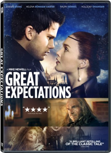 Great Expectations (2013) Fiennes Bonham Carter Irvine Grainger DVD Pg13 Ws