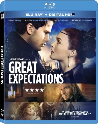 Great Expectations (2013) Fiennes Bonham Carter Irvine Grainger Blu Ray Pg13 Ws