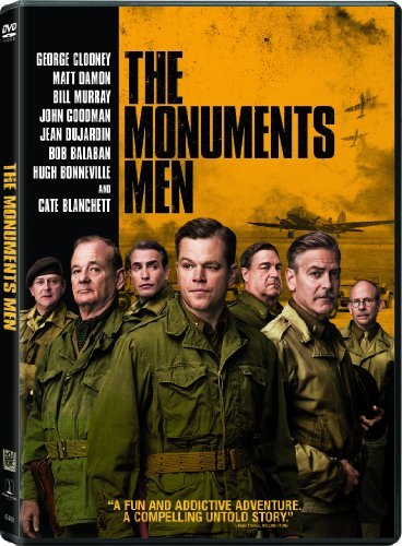 Monuments Men Clooney Damon Murray Blanchett Goodman DVD Nr Ws