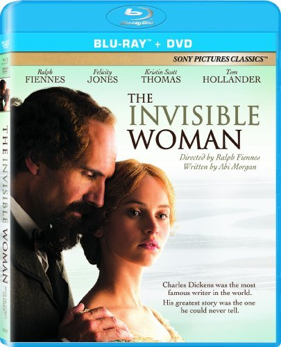 Invisible Woman Fiennes Jones Scott Thomas Blu Ray DVD Nr