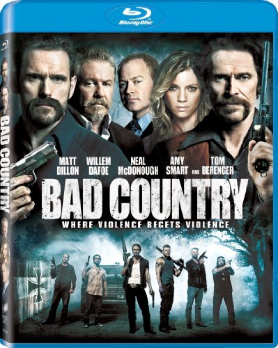 Bad Country Dillon Smart Dafoe Mcdonough Berenger Blu Ray Nr Ws