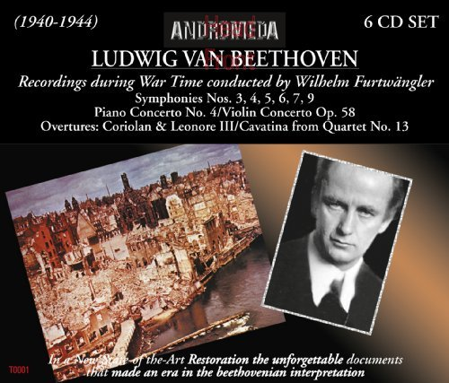 Wilhel Beethoven Furtwangler War Time Recordings