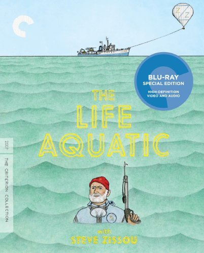 Life Aquatic With Steve Zissou Murray Wilson Huston Blu Ray R Ws Criterion Collection