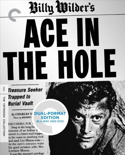 Ace In The Hole Douglas Sterling Arthur Blu Ray DVD Nr Criterion Collection