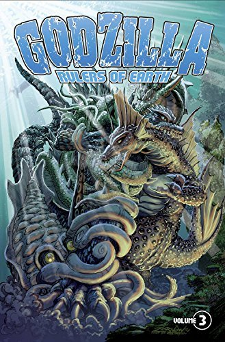 Chris Mowry Godzilla Rulers Of Earth Volume 3