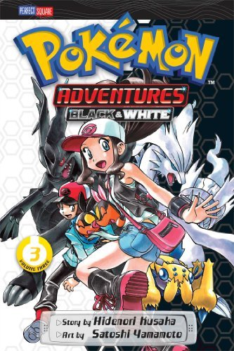 Hidenori Kusaka Pokemon Adventures Black And White Vol. 3
