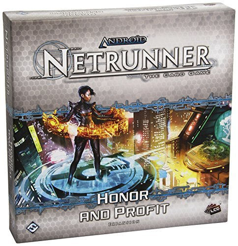 Android Netrunner Honor And Profit Expansion Collectable Card Game