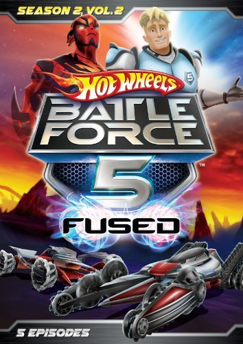 Hot Wheels Battle Force 5 Season 2 Volume 2 DVD Tvy7 Ws