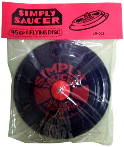 Simply Saucer Reckless Agitation Ep 7 Inch Single