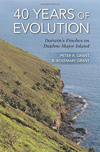 Peter R. Grant 40 Years Of Evolution Darwin's Finches On Daphne Major Island