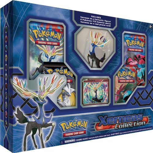 Pokemon Cards Xerneas & Yveltal Collection Box Red Or Blue
