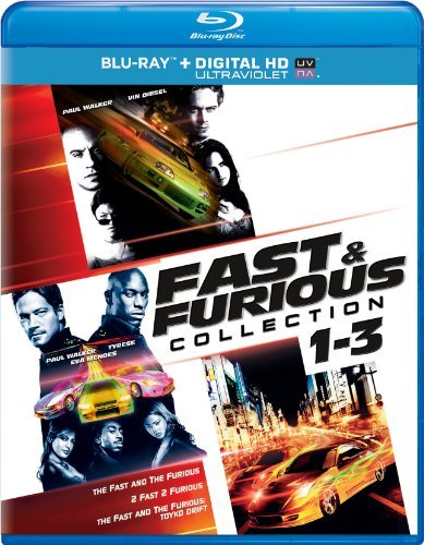 Fast & The Furious 1 3 Collection Blu Ray Ws 1 3 Collection