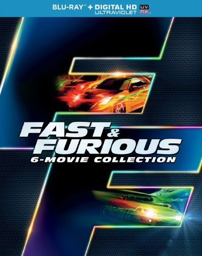 Fast & The Furious 6 Movie Collection Blu Ray Pg13 Ws