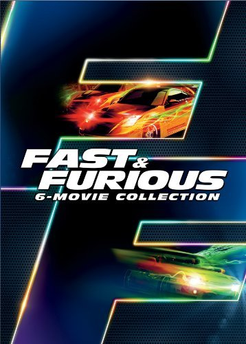 Fast & The Furious 6 Movie Collection DVD Pg13 Ws