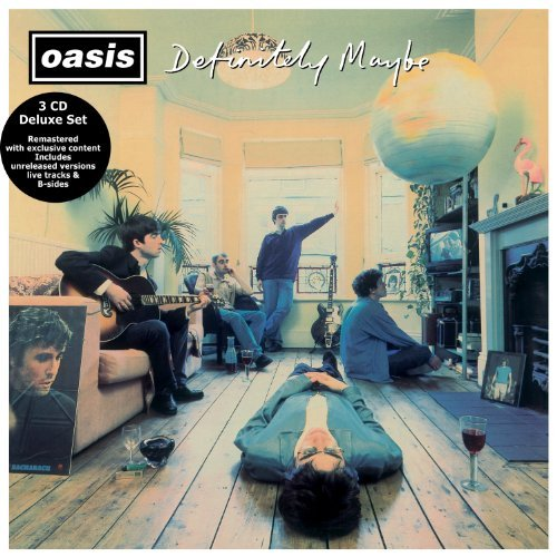 Oasis Definitely Maybe Definitely Remastered 3 CD