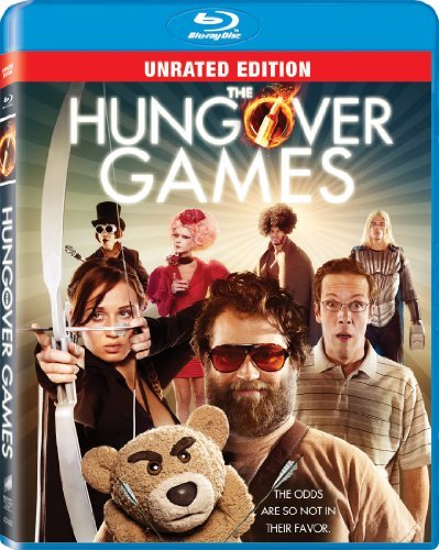 Hungover Games Kennedy Reid Silverman Blu Ray Nr Ws