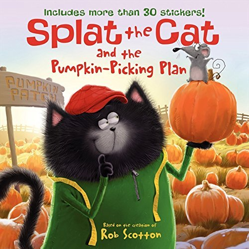 Rob Scotton Splat The Cat And The Pumpkin Picking Plan [with S