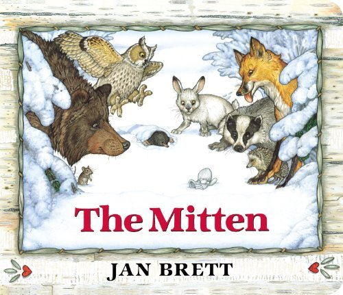 Jan Brett The Mitten Oversized Board Book Oversized Board