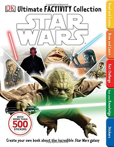 Dk Publishing Ultimate Factivity Collection Star Wars