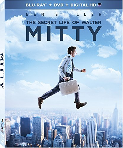 Secret Life Of Walter Mitty Stiller Wiig Scott Blu Ray DVD Dc Pg Ws