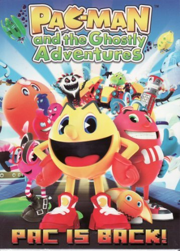 Pac Man & The Ghostly Adventures Pac Is Back DVD