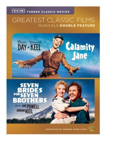 Tcm Calamity Jane Seven Brides For Seven Brothers Double Feature DVD