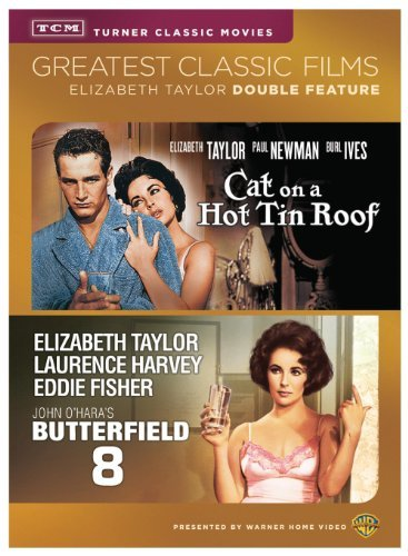 Butterfield 8 Cat On A Hot Tin Roof Double Feature DVD