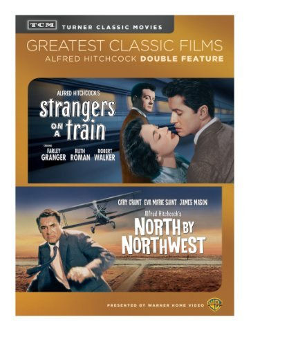 North By Northwest Strangers On A Train Double Feature DVD