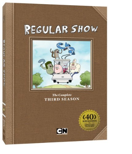 Regular Show Season 3 DVD