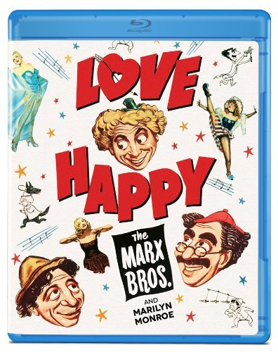 Love Happy Marx Brothers Blu Ray